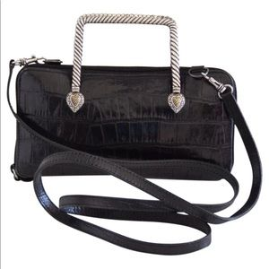 Brighton leather cross body bag/wallet
